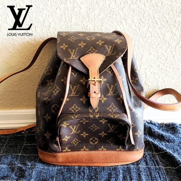 0e6d3ca9cd9b Louis Vuitton Handbags - Louis Vuitton Montsouris MM Backpack Monogram Bag